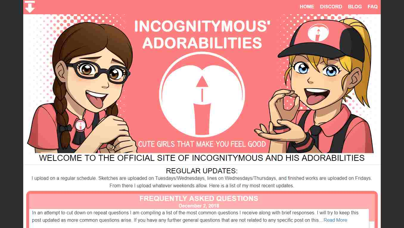 incognitymous, Incognitymous
