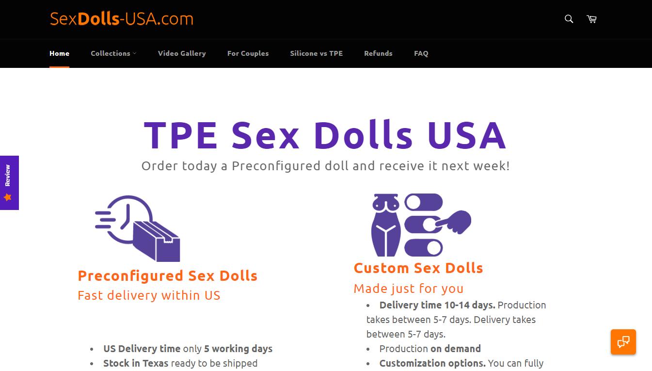 sexdollsusa, SexDollsUSA