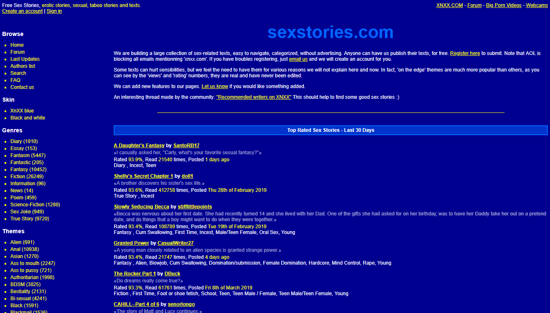 , SexStories