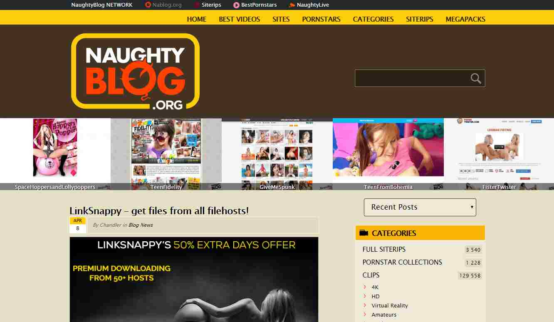 Naughty Blog, Naughty Blog
