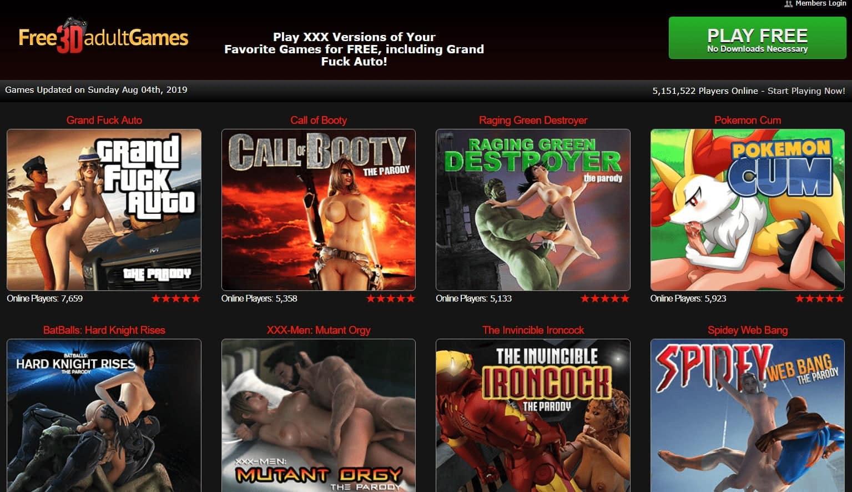free3dadultgames, Free3DAdultGames