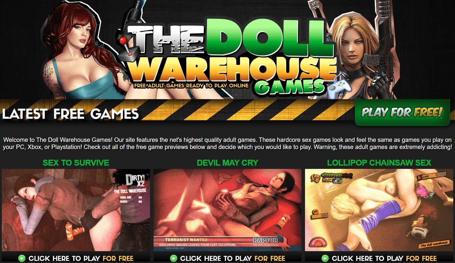 DollwarehouseGames, DollWarehouseGames