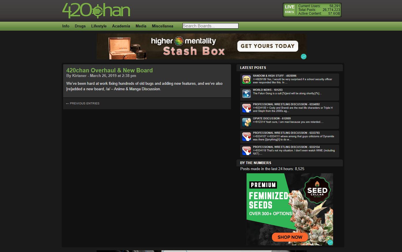 420Chan, 420Chan
