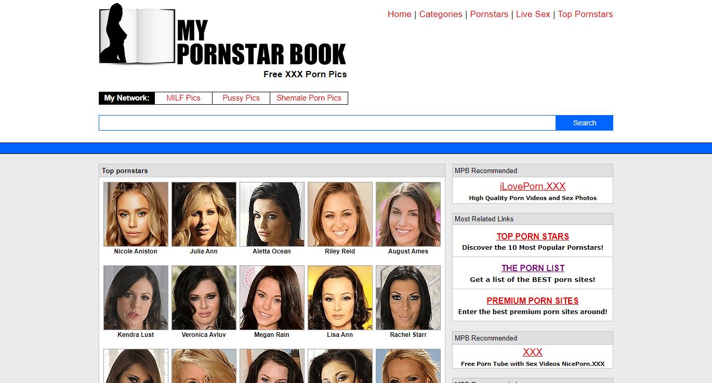 MyPornstarBook, MyPornstarBook