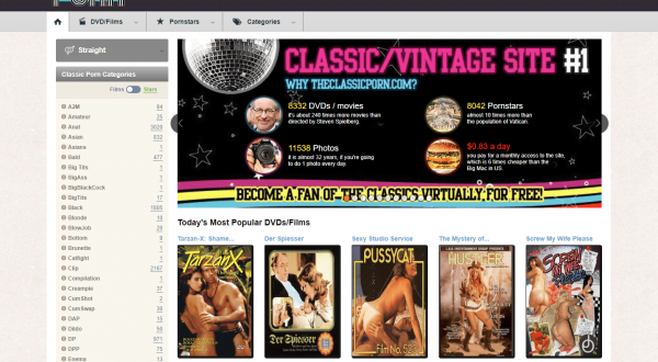 , Vintage XXX Sites