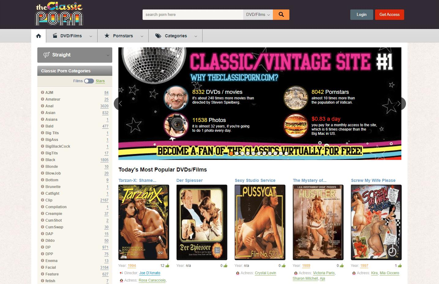 ClassicPornScenes, ClassicPornScenes