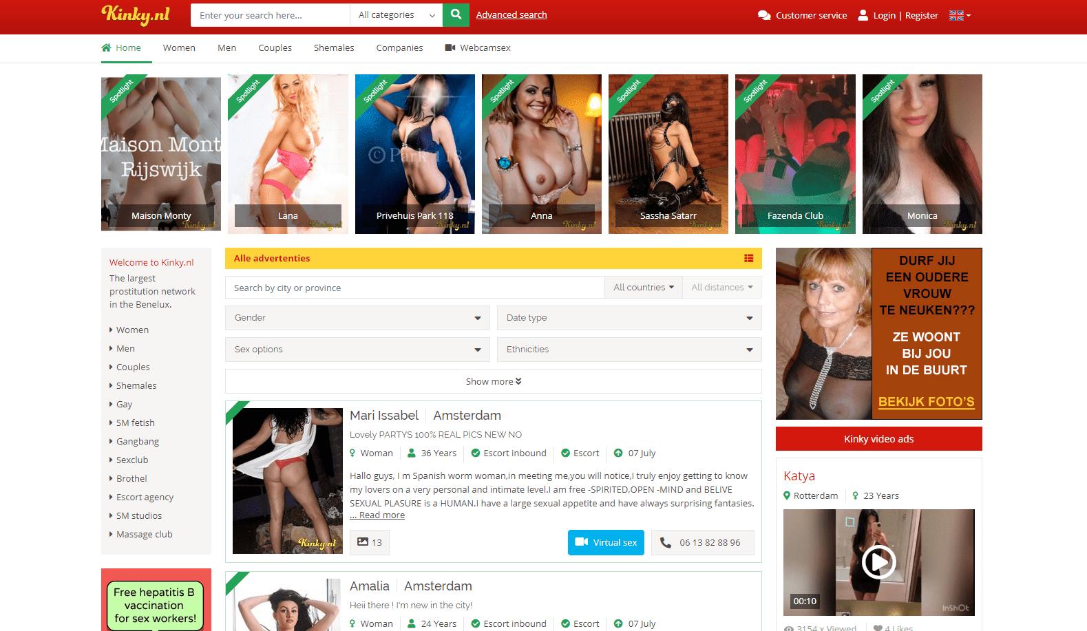 kinky.nl, Kinky.nl
